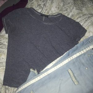 Brandy cropped T-shirt